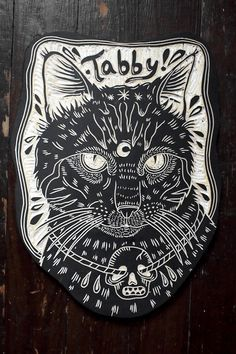 Tabby. For my father. 2013