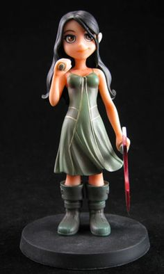 River - Serenity Little Damn Heroes Animated Maquette #5 - Sold out...but still damned adorable!
