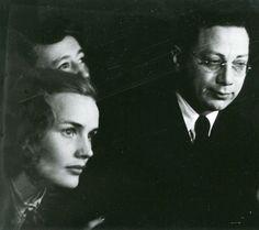 Frances Farmer and Golden Boy co-star Luther Adler