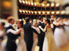 "Debutantes in the opening waltz of the 2011 Vienna Opera Ball. The head of the Vienna Institute for Strauss Research calls the waltz ""Austria's premier cultural export."