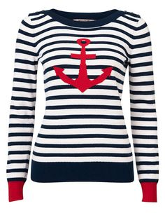 Review Australia | Bon Voyage Jumper. The cutest top in the world -- and perfect for setting sail! Can't wait to call this little jumper mine! :)