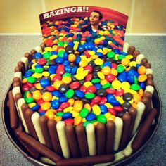 Big Bang theory cake... I want this for my next birthday! Hahahahaa