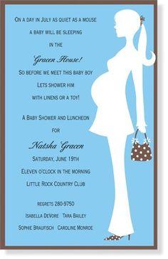 baby showe invite