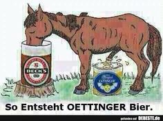 So Entsteht Oettinger Bier.