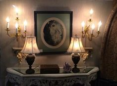 Belgium Brass Sconces   $595  Grace Designs Booth #333  City View Antique Mall  6830 Walling Lane Dallas, TX 75231