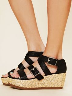 Because, really, great shoes are like feeding your feet. Free People Holland Platform, $99.00