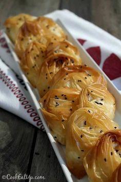 Τυροπιτάκια αχιβάδες ⋆ Cook Eat Up!