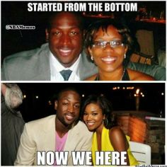 Congrats to Dwyane Wade & Gabrielle Union on their... - http://nbafunnymeme.com/congrats-to-dwyane-wade-gabrielle-union-on-their/