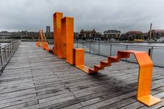 Kalvebrod Waves 'Kalvebod Brygge' designed by JDS + KLAR in Copenhagen, Denmark  © SB/Shapedscape