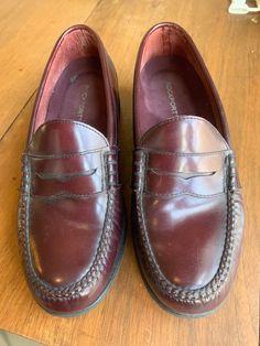 18402a0ec96 ROCKPORT Dress Sports PENNY LOAFERS M2567 Men s Shoe Sz 9.5M Burgandy Slip  On  fashion  clothing  shoes  accessories  mensshoes  dressshoes (ebay link)