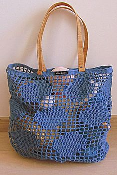 Letters and Arts by Lalá: Crochet bag