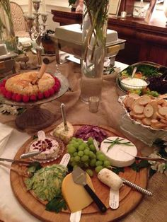 A terrific party catered by ALACARTE in September!  Check out this Cheese Platter!  #atlanta #catering #alacartecatering #food #wedding #atlanta wedding #atlantacatering #weddingideas #foodideas #entertaining #cateringdisplay #cateringideas