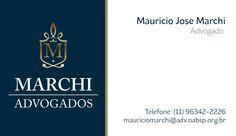 Cartão de visita Marchi Advogados