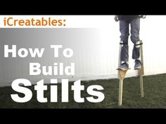 How to build wooden stilts using a few common materials. vvvvvv View the parts list below vvvvvv Check out our other projects on our website at: https://www....