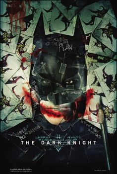 """""""You either die a hero or you live long enough to see yourself become the villain."""" Harvey Dent, The Dark Knight"""