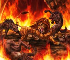 Résultats de recherche d'images pour «dark lion king fanart»