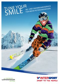 Intersport Rent Kampagnensujet - artindustrial - manufaktur für markenerfolg Industrial, Partner, Skiing, Sports, Branding, Ski, Hs Sports, Industrial Music, Sport