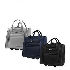 30f3ce91e9ed Latitude 40°N™ Ascent Softside 15-Inch Rolling Underseater Tote Collection  Travel Style