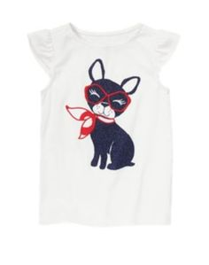315 NWT Gymboree Parisian Afternoon Short Sleeve Tee Top Size 6 Years  #Gymboree #Everyday