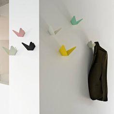 Porte-manteau, Origami, Birds