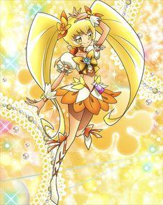 キュアサンシャイン -プリキュア つながるぱずるん攻略Wikiまとめ【キュアぱず】 Pretty Cure, Shugo Chara, Glitter Force, Glitter Background, Equestria Girls, Manga Girl, Magical Girl, Sailor Moon, My Little Pony