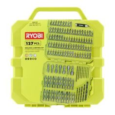 Ryobi Drill and Drive Kit (127-Piece) A981271 at The Home Depot - Mobile