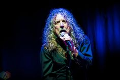 Robert Plant in Toronto last night as part of the Lampedusa tour (Instagram/kellycorkin)