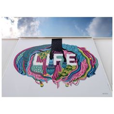 """LIFE AND HOPE 1/2 """"As long as there is Life, there is Hope. The only hope for the future, is the return to Earth"""" #boamistura #rockingMilano #Expo2015 #LifeandHope"""