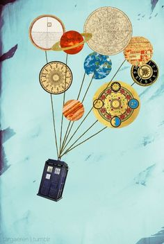 My 2 favorite things. Doctor Who and Up