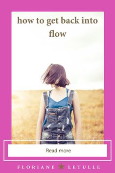 How to get back into flow : 3 steps  #fullfulfillement #happiness #flow #beyouself