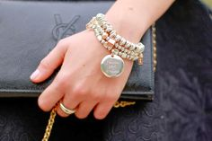 follow your dreams, ysl, queriot, civita, oro, argento, beads, bracciali, bracelets, gioielle, jewels