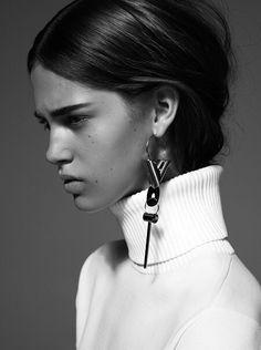 One earing