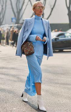 Street style looks from the Milan Fashion Week .- Street Style-Looks von der Mailänder Modewoche Street style looks from Milan Fashion Week - Street Style Boho, New York Street Style, Street Style Trends, Street Style Looks, Street Styles, Spring Street Style, Style Summer, Spring Summer, La Fashion Week
