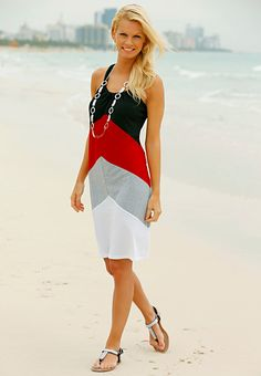 Color Block from Cato.  Like this for something casual yet dressy.