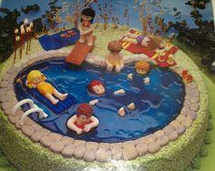 Les vacances à la piscine...