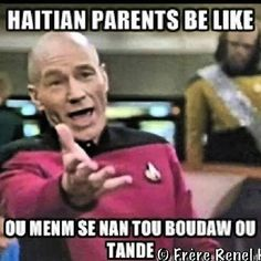 """Basically after a Haitian interprets your behavior as being hard headed they respond by saying: """"The only way you're able to hear is through your ass"""" Meaning instead of just listening to me you'd rather get an ass whipping from me...or an ass whipping from life."""