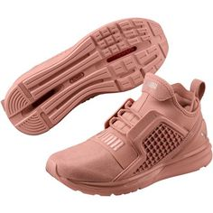 731936744a0 Puma Women s Ignite Limitless Metallic Suede Training Shoes (Pink