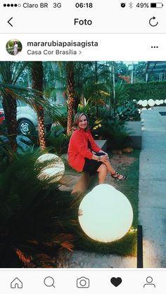 Casa cor Brasília e todo o seu grande sucesso !!! Luminárias de chão linha Soleil