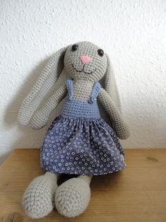 Den lilla elefant: hæklet kanin