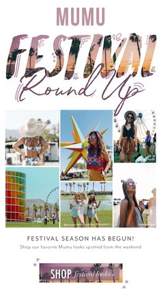 Show Me Your Mumu: Festival Roundup: Looks We Love From Weekend 1  | Milled