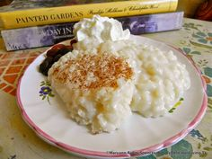 Rice Pudding Heaven made with basmati rice, coconut oil, coconut milk & honey | simplydeliciousliving.com