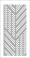 Utvalg av fargevalg for et stempelkort med en 24-sløyfe gjentakelse, fargeskjema utskrift
