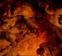 """""""The Day of Judgement"""", c. 1620. (Detail.) by Peter Paul Rubens"""