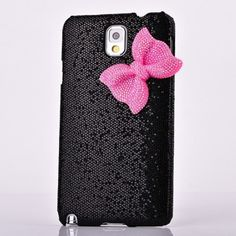 SaveGood Deluxe Sweety Girls Case Cover Decorated Bling Glitter Bow for Samsung Galaxy Note III Note 3 N9000 - Black Case Land http://www.amazon.com/dp/B00H9BPE0O/ref=cm_sw_r_pi_dp_7Ow4tb1YAX5X9