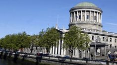 The Four Courts Building on the River Liffey in Dublin as it stands now.