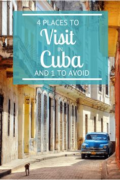 Planning a visit to Cuba? Here are 4 places to visit in Cuba - and one to avoid. No matter how much you prepare yourself for a trip to Cuba, you're still blown away when you Places To Travel, Travel Destinations, Places To Visit, Cayo Coco Cuba, Varadero Cuba, Travel Guides, Travel Tips, Travel Hacks, Places