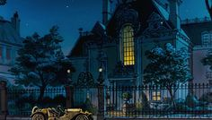 loserslurgy: The Aristocats {scenery} - Concept Art & other