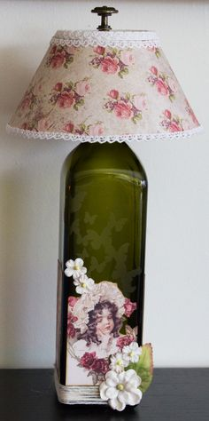 etched glass bottle and etchall light kit..