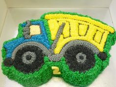 No Fondant! 2 Birthday Cake, Twin Birthday, 2nd Birthday Parties, 4th Birthday, Birthday Ideas, Dump Truck Cakes, Dump Trucks, Construction Birthday, Construction Cakes
