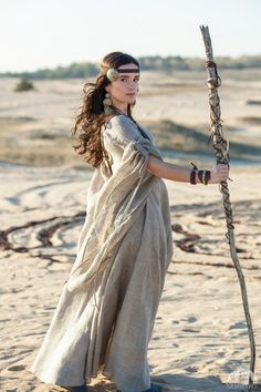 """Linen Tunic """"Labyrinth"""" for sale :: by medieval store ArmStreet Style Tribal, Dries Van Noten, Labyrinth, Medieval Costume, Medieval Witch, Medieval Tunic, Linen Tunic, Fantasy, Haute Couture Fashion"""